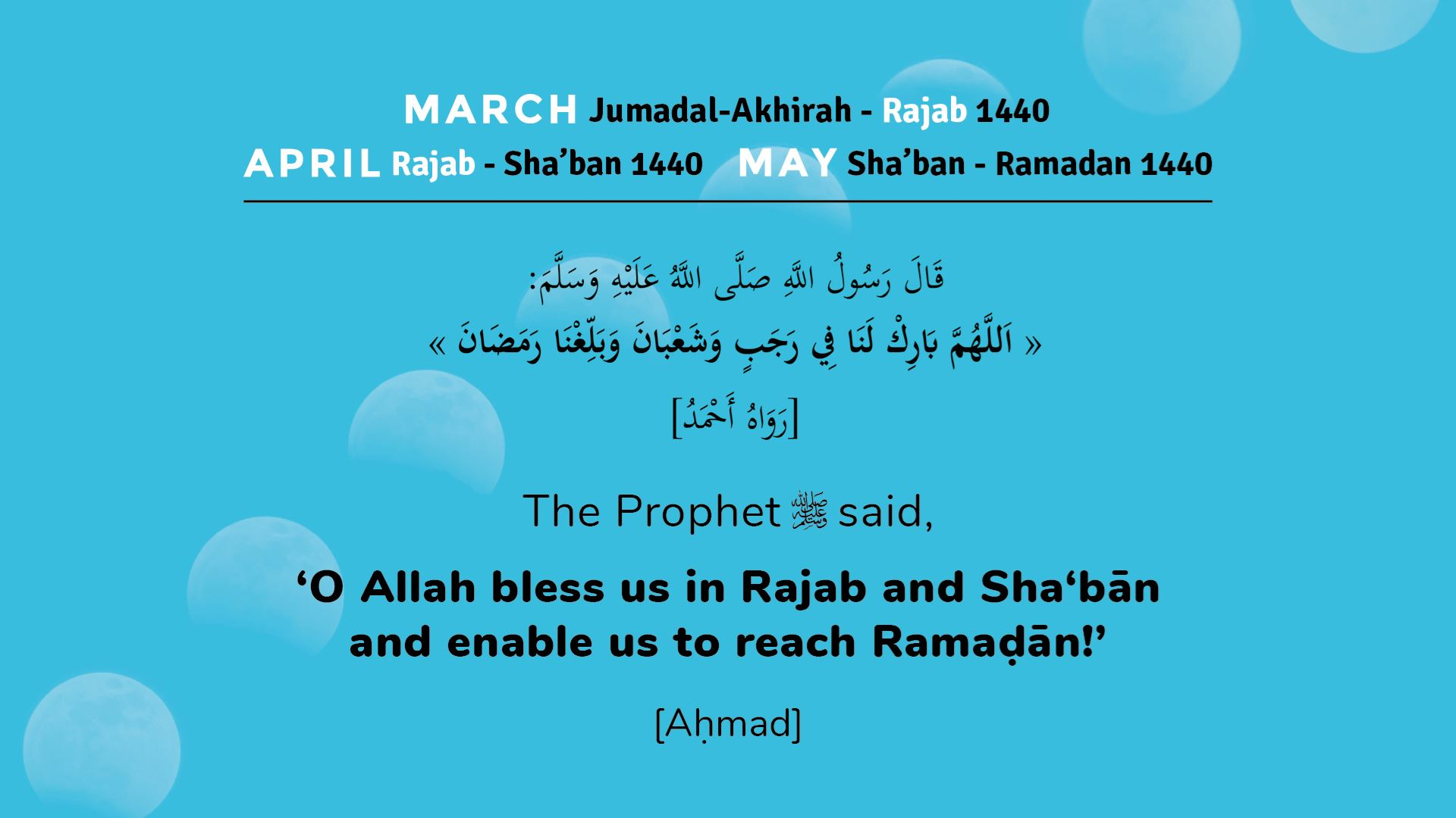 The Benefits of Sha'ban, the Neglected Month | Muslim Hands UK