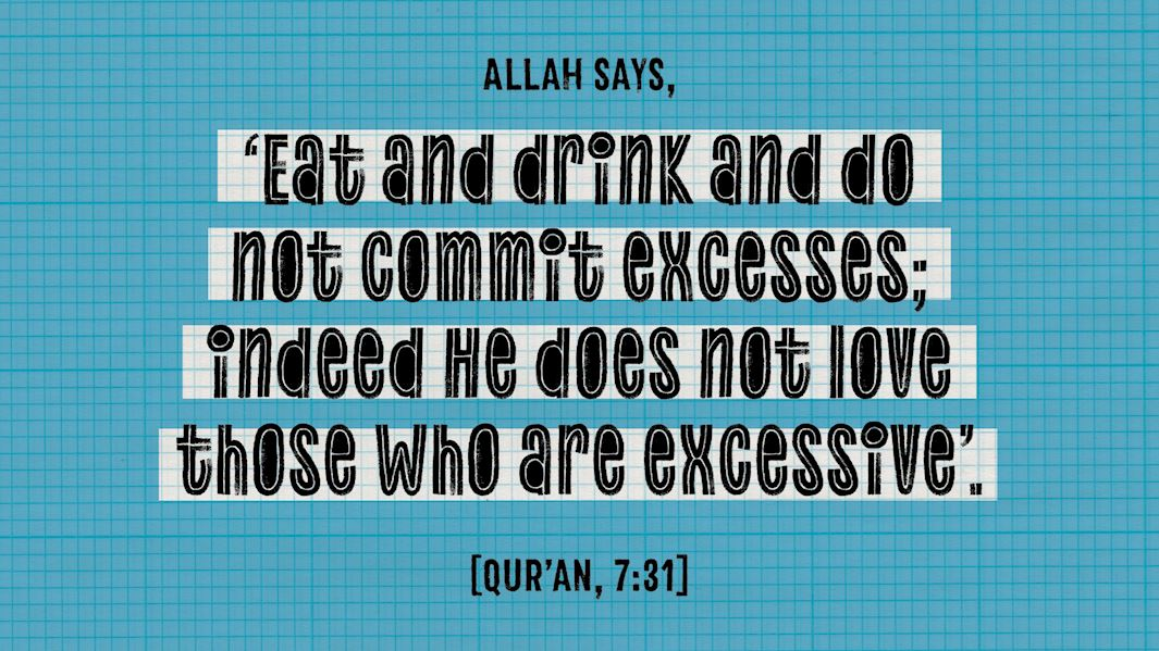 Makan Seperti Sunnah Nabi SAW