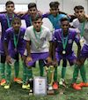 Muslim Hands FC Lift the Cup