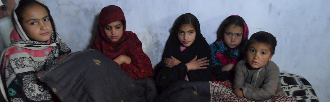 You Are Keeping Orphans in Pakistan Warm and Alive