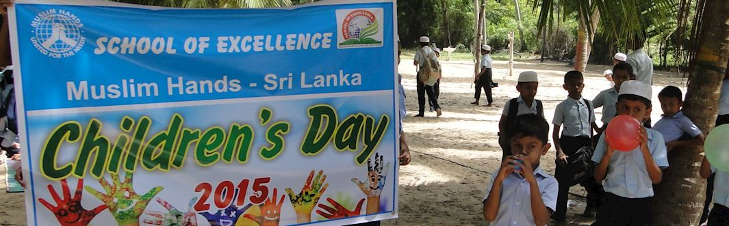 Celebrating Children's Day with the Sri Lanka School of Excellence