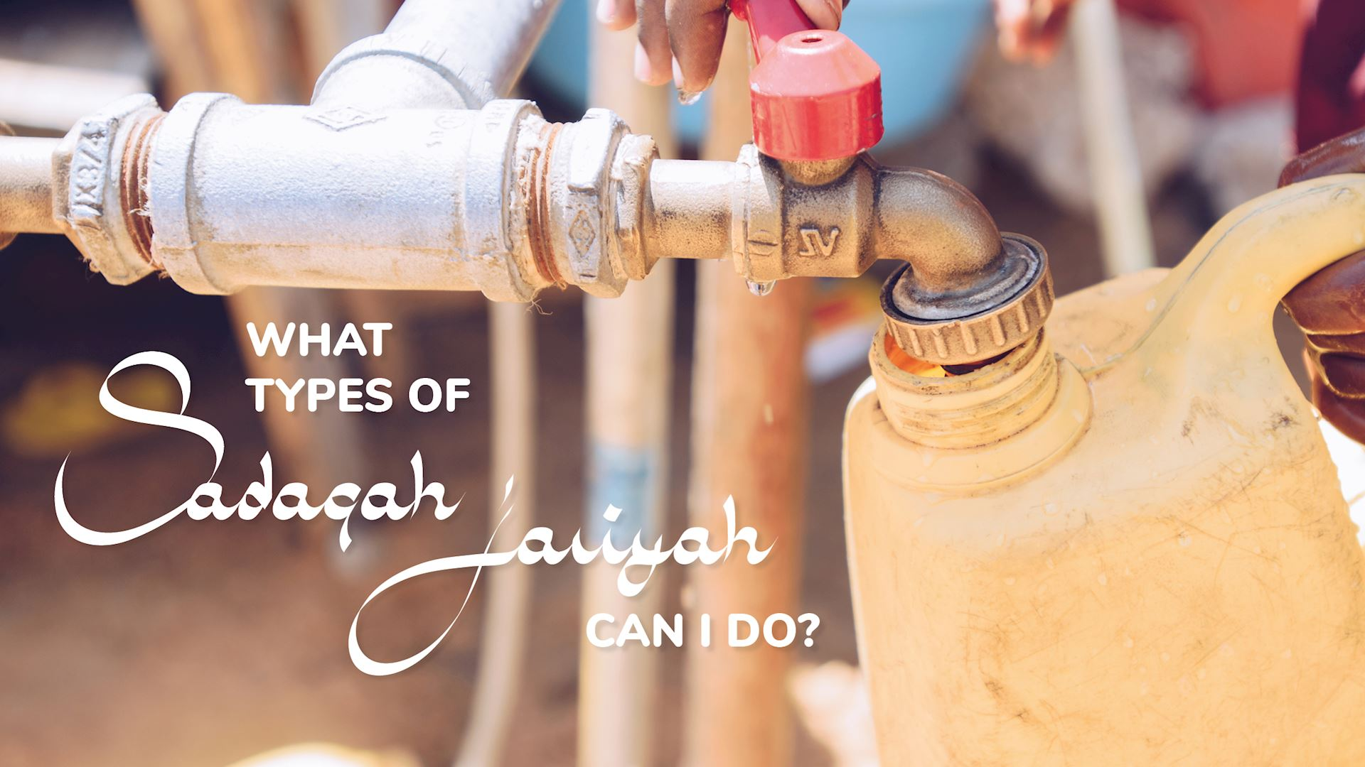 What is Sadaqah Jariyah? | Muslim Hands UK