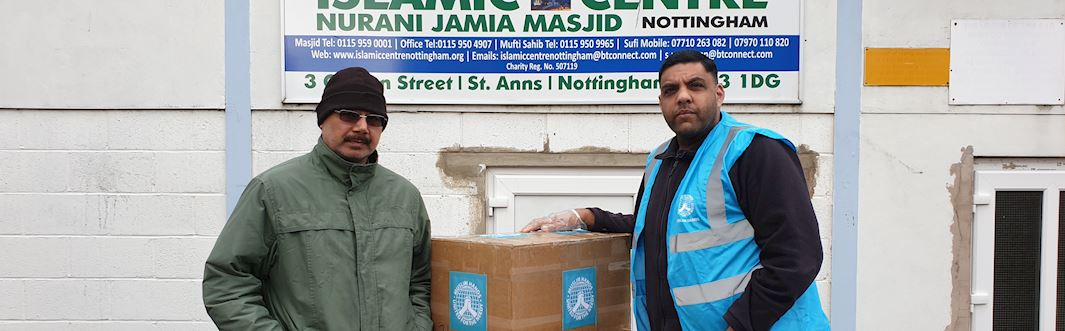 Press Release: Muslim Hands begin to distribute 2,000 pieces of PPE to UK burial services