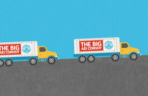 The Big Aid Convoy 2019: UK to Syrian Refugees