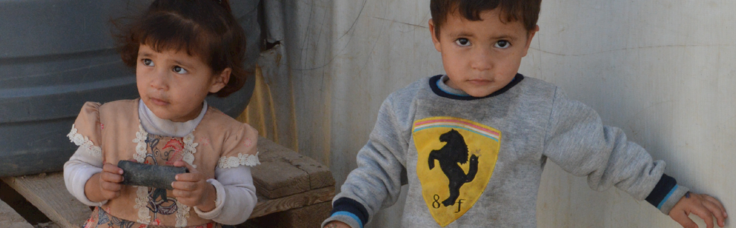Stolen Childhoods: Life as a Syrian War Child