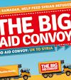 Join Us For The Big Aid Convoy Send-Off Ceremony